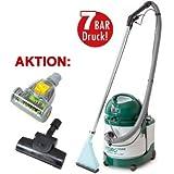 Waschsauger HYDRO 7000 # AKTION: inkl. 2 Turbobürsten! # 7 Funktionen # 7 BAR Druck # MADE IN EUROPE #