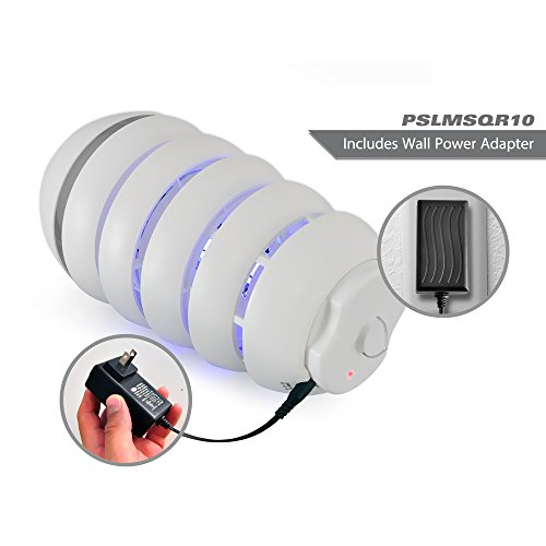 pslmsqr10 bug zapper electric light outdoor pest control insect