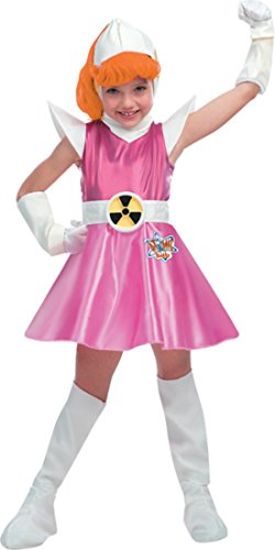 Girls Atomic Betty Deluxe Kids Child Fancy Dress Party Halloween Costume