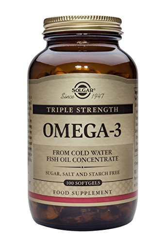 Solgar, Triple Strength Omega-3 950 mg, 100 Softgels (Omega 3 950 Mg Solgar compare prices)
