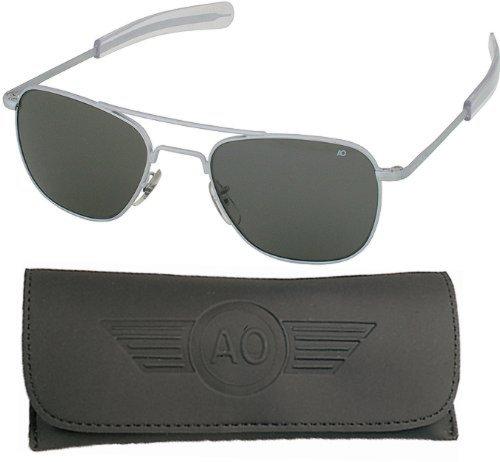 10701 Genuine Air Force Pilots Sunglasses Ao (Matte,52Mm)