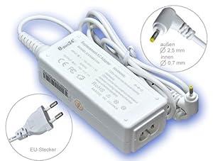 40W Adaptateur chargeur secteur AC Adapter pour ordinateur portable Asus Eee Pc 1015B 1215B 1011PX X101 X101H 1015BX R051PX R011PX 1025C 1025CE. Avec câble d'alimentation standard européen. De e-port24®