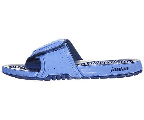 Nike Mens Jordan Hydro 2 Sandals Style: 312527-406 Size: 13 M Us, University Blue / Metallic Platinum-True Blue front-1067223