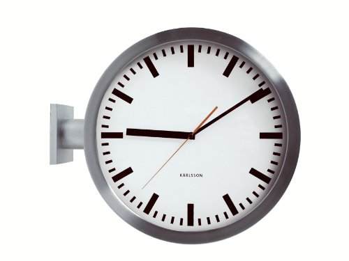 Five top swiss railway clocks not made by mondaine train - Swiss railway wall clock ...