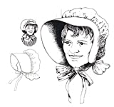 Violas Bonnet Pattern (Child and Adult Sizes)