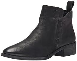 Dolce Vita Women\'s Tessey Ankle Bootie, Black, 8 M US