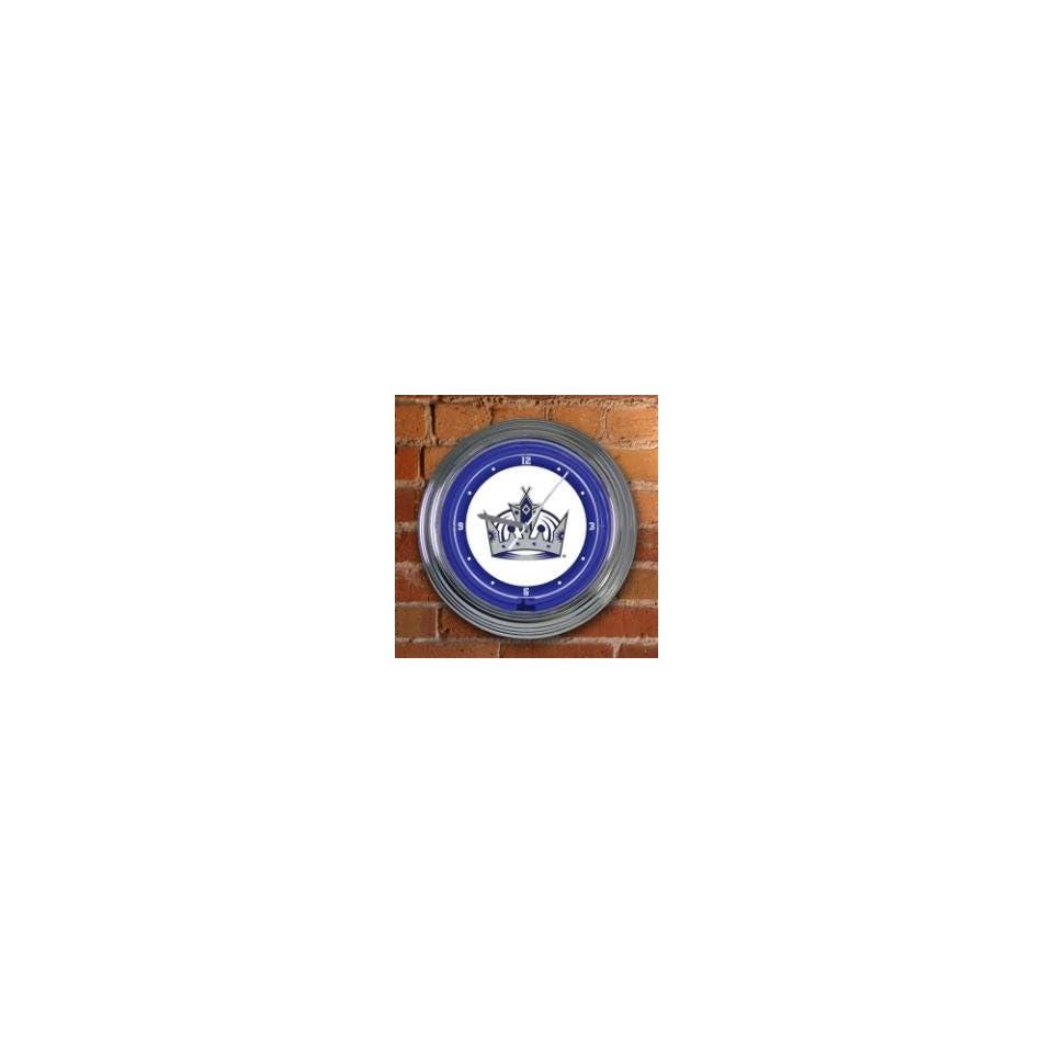 LOS ANGELES KINGS Team Logo 15 NEON WALL CLOCK