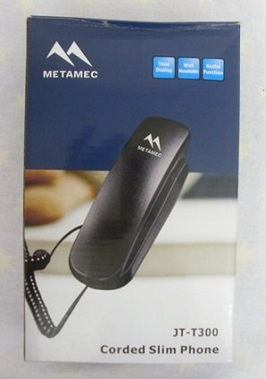 Metamec JT-T300 Corded Slim Phone images