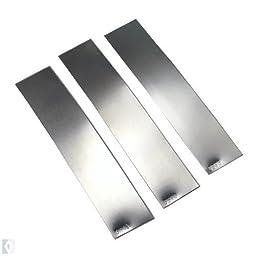 Easy Medium Hard Sheet Silver Solder Kit - 5 DWT each - SFC Tools - Kit-Solder-5dwt