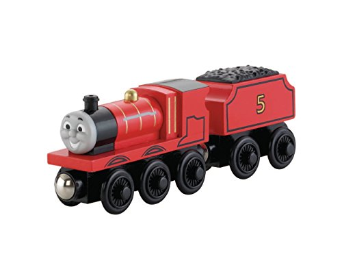 Fisher Price Thomas Wooden Railway James The Red Engine