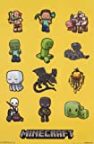 (22x34) Minecraft Characters Video Game Poster
