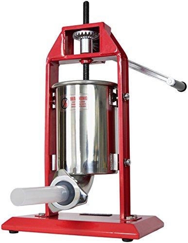 new-vivo-sausage-stuffer-vertical-stainless-steel-3l-7lb-5-7-pound-meat-filler-by-vivo-stufr-v003