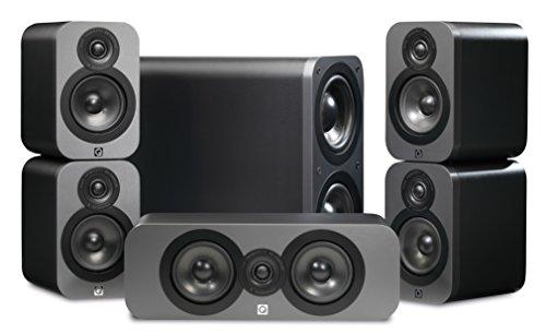 Q-Acoustics-3000-51-Home-Cinema-Speaker-Package-Graphite
