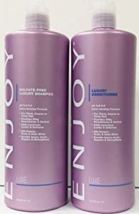 Enjoy Hair Care - 33 Ounce Luxury Duo Shampoo and Conditioner Duo