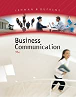 Business Communication by Lehman