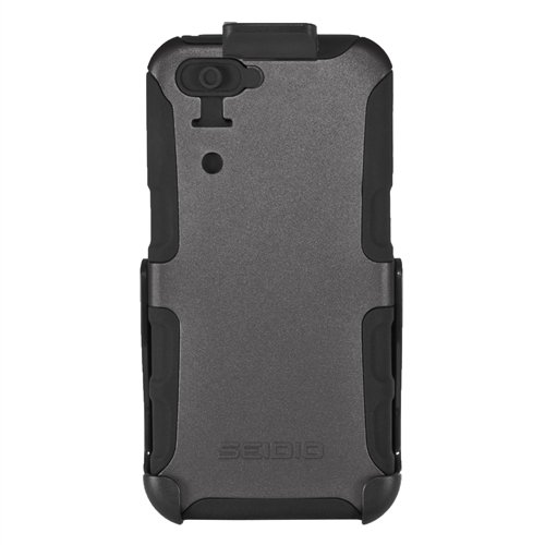 Seidio BD4-HKR4IPH5-SG CONVERT Case and Holster Combo for Apple iPhone 5 – Retail Packaging – Sand Gray in stock