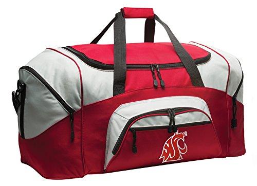 Washington State University Duffle Bag WSU Cougars Gym Bags Suitcase Duffel
