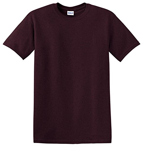 Gildan Men's Heavy Cotton T-Shirt (Russet) (Medium)