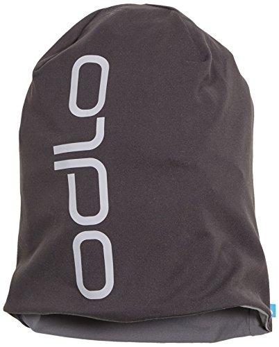 Odlo Mütze Herren Hat Reversible, Black - Odlo Steel Grey, One size, 792680