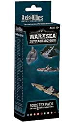 Axis and Allies War at Sea Surface Action Booster Pack