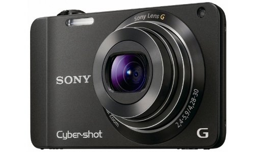 Sony DSCWX10 Cyber-shot Digital Still Camera - Black (16.2MP, 7x Optical Zoom) 2.8 inch LCD