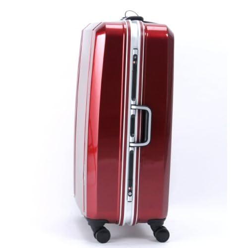 CONTINENTS(トランスコンチネンツ)キャリーケース スーツケース ダブルキャスター TSAロック搭載 軽量 (01)クリスタルレッド Free