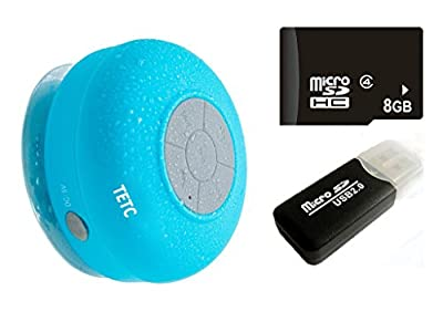 Waterproof Wireless Bluetooth Shower Speaker Handsfree Speakerphone Compatible with All Bluetooth Devices Iphone 7s and All Android Devices