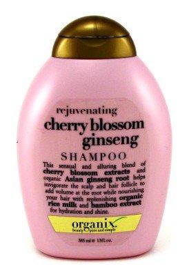 Organix Rejuvenating Shampoo, Cherry Blossom Ginseng, 13 oz.