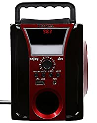 ENJOY MP3/FM/AUX PLAYER WITH SPEAKER WITH EMERGENCY LIGHT
