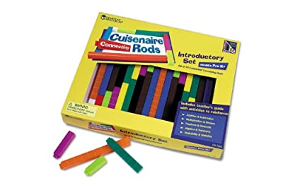 Learning Resources Cuisenaire Rods Introductory Set: Connecting