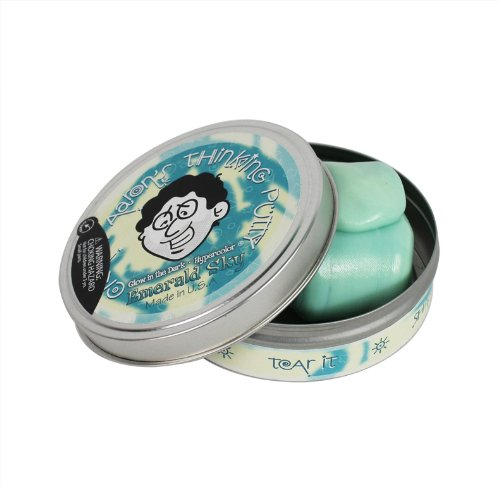 "Crazy Aaron's Thinking Putty - ""Emerald"
