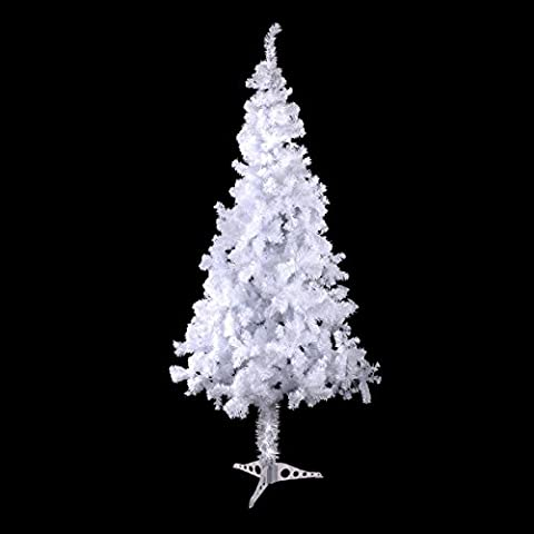 4 Feet Tall Christmas Tree With Stand Holiday Season Indoor Outdoor White New
