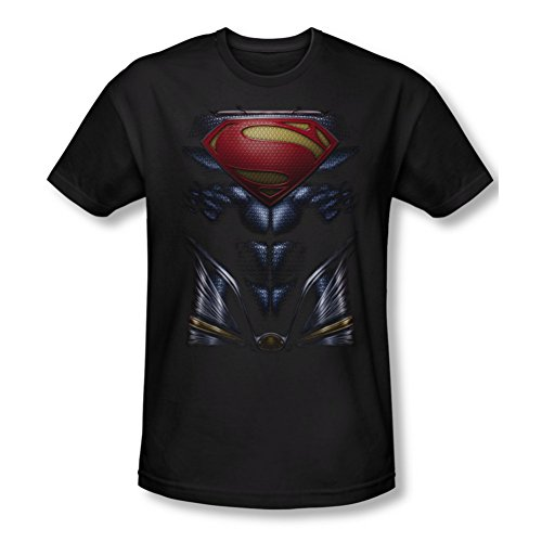 Superman Man of Steel Mos Costume Slim Fit T-Shirt