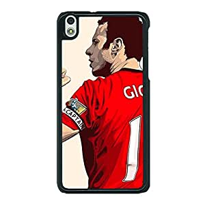 Jugaaduu Manchester United Ryan Giggs Back Cover Case For HTC Desire 816G