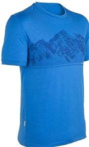 Icebreaker Mens Tech T Lite Short Sleeve Alps Tee by Icebreaker