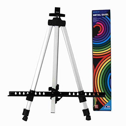 Aluminum Easel CONDA- Tall Collapsible Aluminum Light Weight Painting Drawing Art Easel - 55'' include Black Carry Bag (Painting Easel Light compare prices)