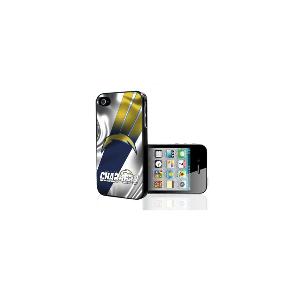 San Diego Chargers NFL Football Team iPhone 4 4s Hard Phone Case Cover Cell Phones & Accessories