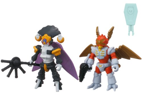 LBX Battle Custom Figure Set LBX Nightmare & LBX Bibinbird X (PVC Figure) [JAPAN] by Bandai - 1
