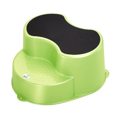 rotho-babydesign-sgabello-per-bambini-a-2-piani-verde-lindgrun-perl