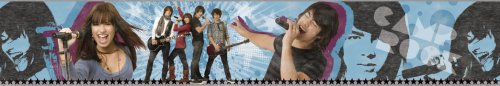Blue Mountain Wallcoverings DS026454 Camp Rock Self-Stick Wall Border