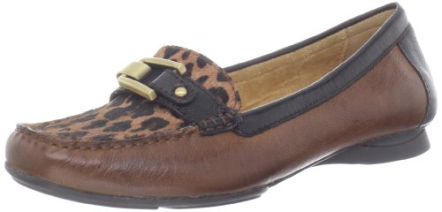 Naturalizer Women's Sophie Flat,Banana Bread/Leopard,6 M US