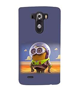 printtech Minion Lightear Back Case Cover for LG G3::LG G3 D855