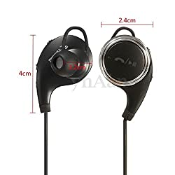 Wireless Bluetooth V4.1 QCY QY8 Stereo Sports Headphones Headset Earphone Black