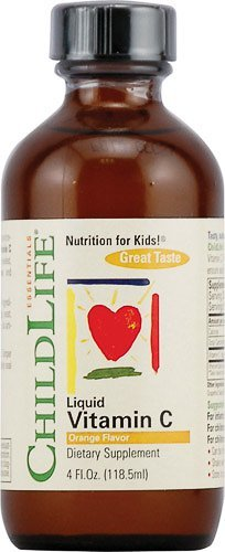 Childlife Liquid Vitamin C Orange - 4 fl oz - 1