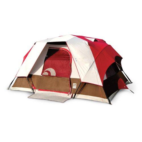 Igloo Canyon Lake II Modified Dome Tent (6-Person) Red/Grey  sc 1 st  6 person tent & Igloo Canyon Lake II Modified Dome Tent (6-Person) Red/Grey ~ 6 ...