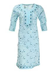 PDBP Women's Cotton Straight Kurti