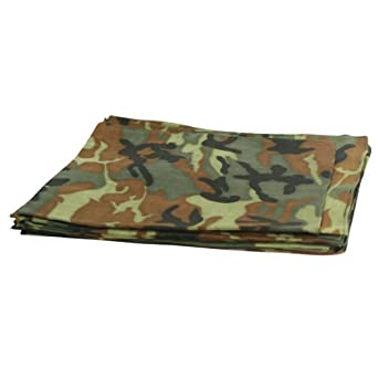 "Bandanas By The Dozen 100% Cotton 12-Pack 22"" x 22"" - Camouflage"