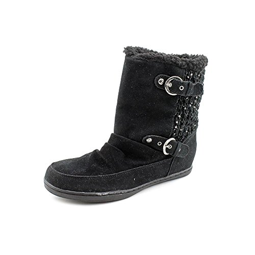 G By Guess Radella Womens Size 8.5 Black Fashion Mid-Calf Boots