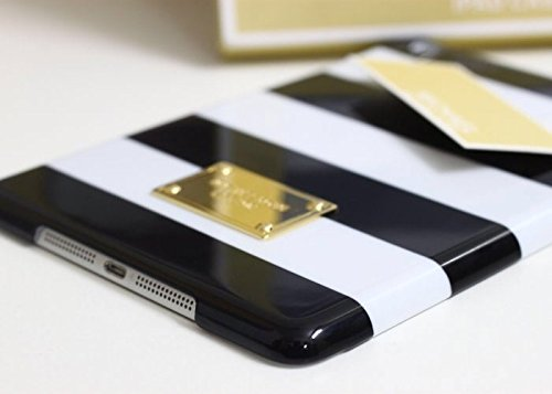 MICHAEL KORS - Black and White Stripe MK iPhone