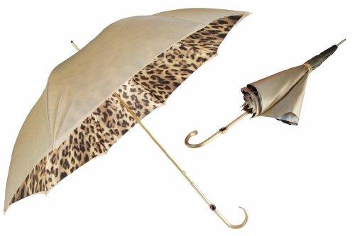 Pasotti Silver Leopard Umbrella
